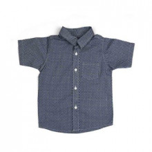 Baby Half Sleeve Shirt Printed - Navy Blue