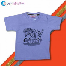 Boys T-Shirt- Purple RAW  Print