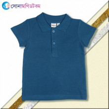Baby Polo T-Shirt - Blue