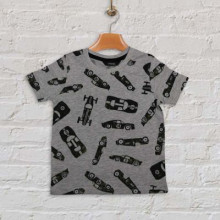 Baby Half Sleeve T-Shirt - Gray
