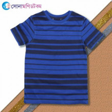 Baby Half Sleeve T-Shirt - Blue