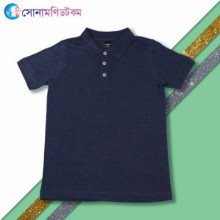 Baby Polo T-Shirt - Navy Blue