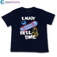 Baby Half Sleeve T-Shirt - Navy Blue