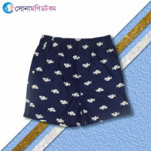 Boys Shorts-Nevy Blue