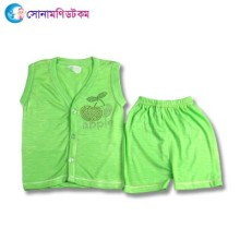 Baby Dress Set - Green