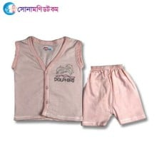 Baby Dress Set - Light Pink