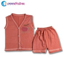 Baby Dress Set - Maroon
