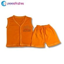 Baby Dress Set - Orange