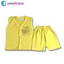 Baby Dress Set - Yellow