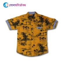 Baby Half Sleeve Shirt - Yellow