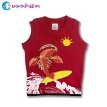 Baby Maggi Sleeve T-Shirt - Magenta