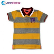 Baby Polo T-Shirt-Yellow Color