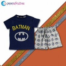 Baby T-Shirt With Shorts Set - Navy Blue