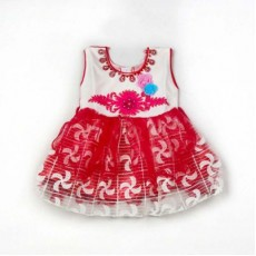 Baby Frock - Red