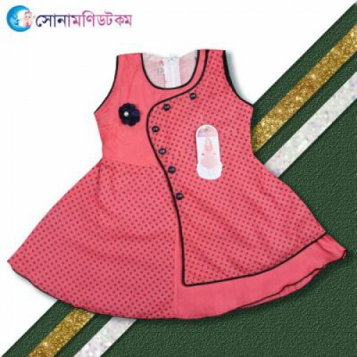 Baby Frock and Shorts Set – Red