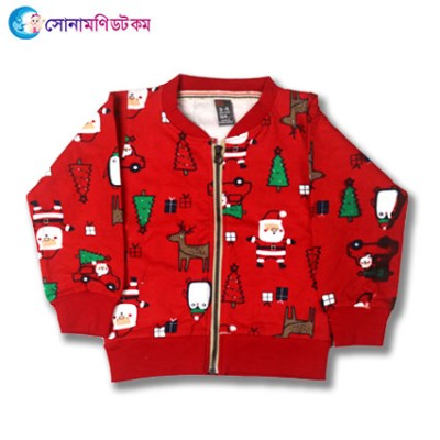 Baby Jacket- Red Print