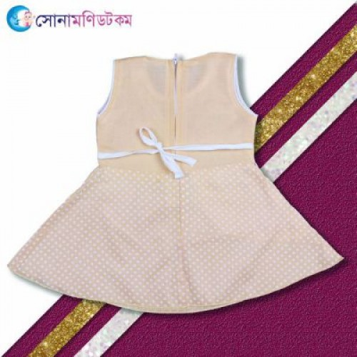 Baby Frock and Shorts Set – Brown