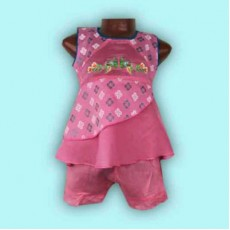 Kids Frock With Shorts