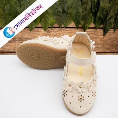 Baby Belly Shoes–White