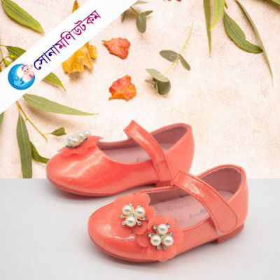 Baby Belly Shoes – Orange