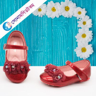 Baby Belly Shoes – Red