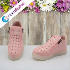 Baby Boots-Light Pink Color