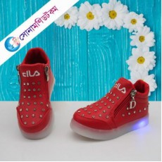 Baby Lighting Keds-Red Color