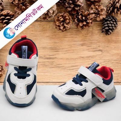 Baby Sports Shoes – Blue & White