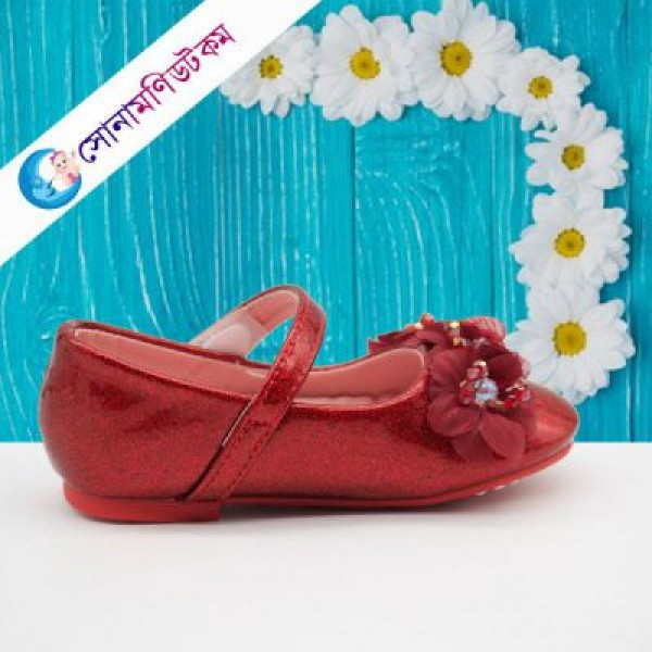 Baby Belly Shoes – Red | Party Shoes | FOOTWEAR at Sonamoni.com