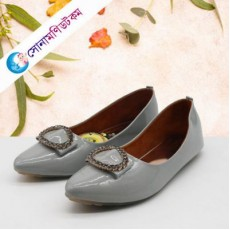 Girls Bellies Shoes - Gray
