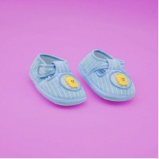Baby Booties Shoes - Sky Blue