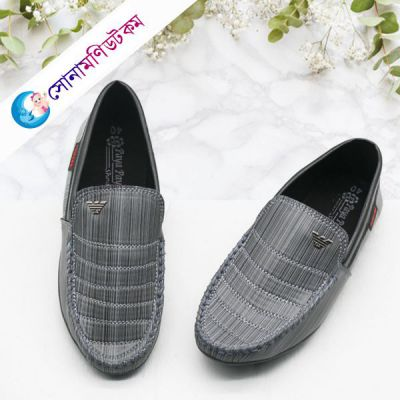 Baby Loafer Shoes - Gray