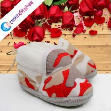 Baby Booties – Red
