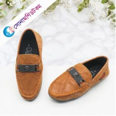 Baby Loafer Shoes - Light Brown