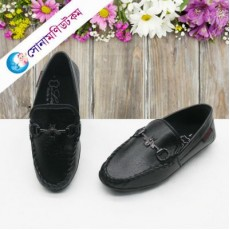 Baby Loafer Shoes - Black