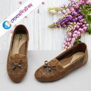 Girls Loafer Shoes - Brown