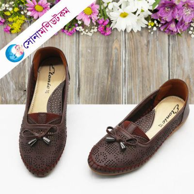 Girls Loafer Shoes - Chocolate