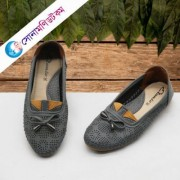 Girls Loafer Shoes - Gray