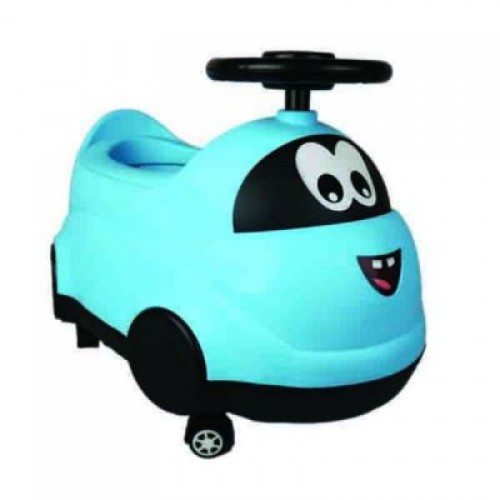 Potty Chair Ride On Style - Blue