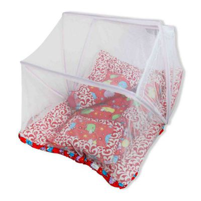 Baby Bedding with Mosquito Net Set