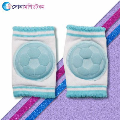 Baby Knee Protection Pad - Sky Blue