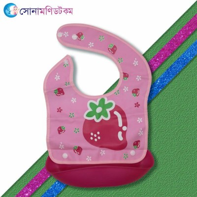 Baby Tray Bibs - Pink