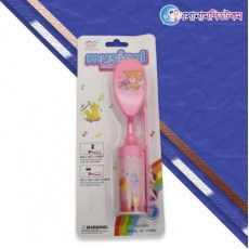 Baby Musical Hair Brush And Comb Set-Pink