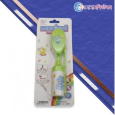 Baby Musical Hair Brush And Comb Set-Green