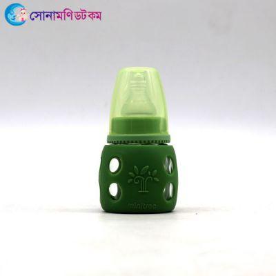 Feeding Bottle (Glass) 60 ml - Green