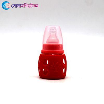 Feeding Bottle (Glass) 60 ml - Red