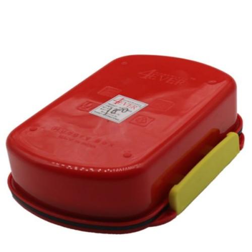 Lunch Box Car Print - Red
