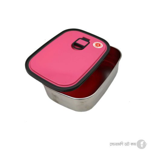 Lunch Box (Stainless Steel) - Pink