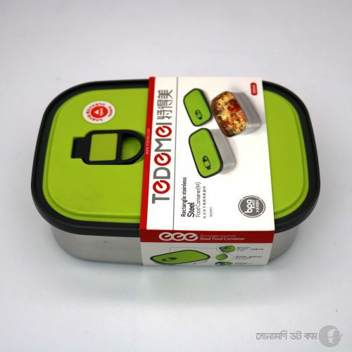 Lunch Box (Stainless Steel) - Green
