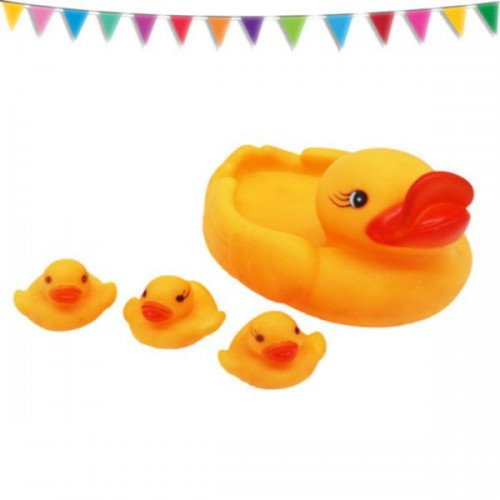 Mom And Baby Duck Set - 4 piece